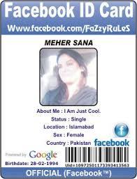 Facebook Get A Card Free Id