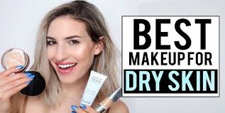 hacks to apply makeup on dry skin cover