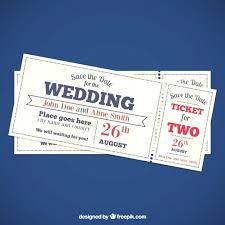 wedding invitation ticket template just like the save dates this is also something that you can