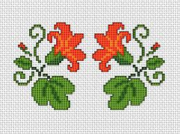 Cross Stitch Flower Patterns Cool Free Cross Stitch Pattern Guide For Card Making Card Making World
