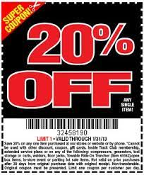 20 off harbor freight can save