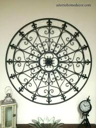 cast iron wall decor iron wall decor large round wrought iron wall cor rustic scroll antique cast iron wall decor