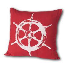 nautical linen throw pillows