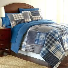 plaid bedding sets plaid comforter sets queen interior blue plaid comforter stunning set sets bedding navy