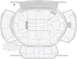 Aac Seating Chart With Seat Numbers American Airlines Center Dallas Seat Numbers Detailed