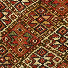 khorassan kurd quchan rug pattern detail 2