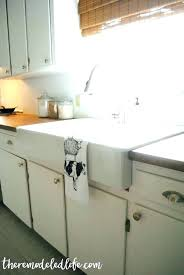 install farmhouse sink farmhouse sink stainless drop in shelves pertaining to installation inspirations install farmhouse sink install farmhouse sink
