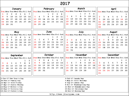 yearly calendar 2017 template 2017 calendar canada blank calendar printable