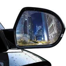 Car Motorcycle <b>Rearview</b> Mirror <b>Film</b> Sticker Practical PET ...