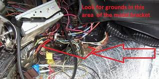 gauge grounding point for 1975 forums official c3 vette well this is the best pic i can