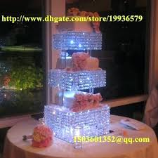 crystal cupcake stand 3 tier square crystal clean cup cake dessert stand d h tier crystal chandelier