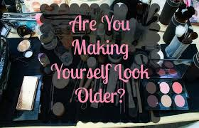 chelsea crockett are you making yourself look older it s crazy how makeup