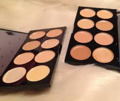 concelart lastly i went for the ultra cover and conceal palettes