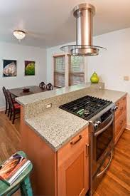 kitchen island with stove ideas. Slide In Stove Island Design Ideas, Pictures, Remodel And Decor Kitchen With Ideas W