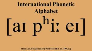 The phonetic alphabet used for confirming spelling and words is quite different and far more complicated to the phonetic alphabet used to confirm pronunciation and word sounds , used by used by linguists, speech therapists, and language teachers, etc. International Phonetic Alphabet Youtube