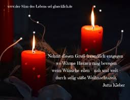 Weihnachtsgrüße Gedichte Und Sprüche Die Das Herz Berühren
