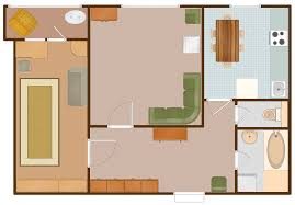 apartment plan sample