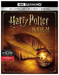 harry potter 8 film collection 4kuhd blu ray