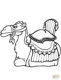 Small Picture Camel Laying Down coloring page Free Printable Coloring Pages