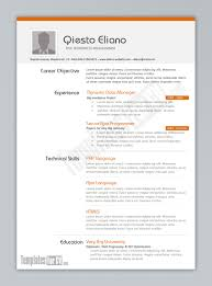 Resume Examples Pdf Template Templates For Cv Or Format Free Editable PDF