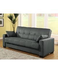 Pearington Mia Sofa & Couch Sleeper Bed, Dark Gray