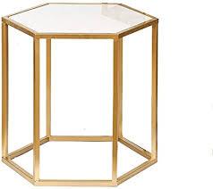 hexagon coffee table sofa side table