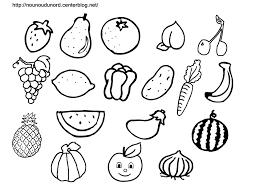 Coloriage Fruit Les Beaux Dessins De Nature Imprimer Et