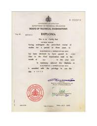 diploma certificate jpg a 0095874 government of karnataka department of techntcal education board of technical examinations reg no diploma certificate jpg upcoming slideshare