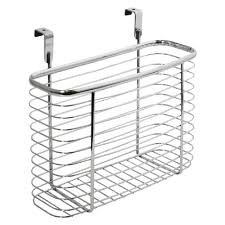 Over The Cabinet Basket Interdesign Axis Cabinet Door Organizer Reviews Wayfair