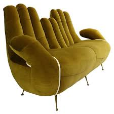 italian furniture designers list. an italian 50u0027s sofa in the form of cupped hands furniture designers list s