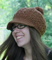 Crochet Newsboy Hat Pattern Stunning Crochet PATTERN Elegant Crochet Newsboy Hat Pattern