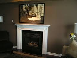image of chalk painted fireplace mantels