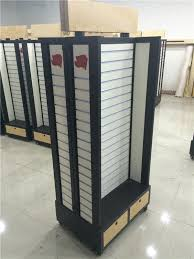 Free Standing Display Cabinets Modern Store Freestanding Accessories Slatwall Display Cabinets 94