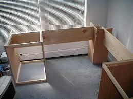 plans to build a corner computer desk