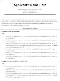 Successful Resume Format Inspiration Sample Layout Of Resume Successful Resume Format Resume Examples