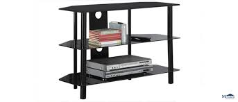large size of glass shelf tv stand and 4 shelf black glass tv stand with glass