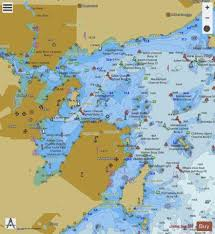 Salem Marblehead And Beverly Harbors Marine Chart