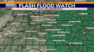 Ida Track: Flash Flood Watch for Middle ...