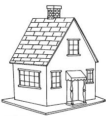 Small Picture Little House in Houses Coloring Page NetArt