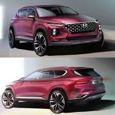 Who Designs Hyundai Cars 2019 Hyundai Santa Fe Official Sketch Das Dengel