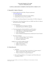 Clinical Research Coordinator Resume Clinical Research Coordinator Resume Best Template Collection 20