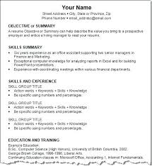 Writing Resume Format Format For Good Resume Format For Resume ...
