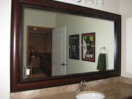mirror frame. Beautiful And Elegant Mirror Frame Kits Traditional-bathroom