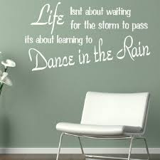 Life Dancing In The Rain Quote