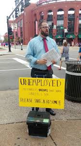 Unemployment Resumes After Handing Out His Resume At Busch Stadium Unemployed Man Still