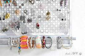 wow this diy jewelry organizer has everything i need to hold all my jewelry