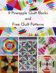 9 Pineapple Quilt Blocks and Free Quilt Patterns | FaveQuilts.com & 9 Pineapple Quilt Blocks and Free Quilt Patterns Adamdwight.com