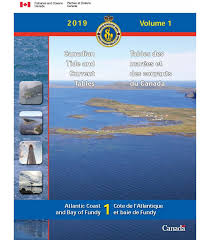 Saint John Nb Tide Chart Canadian Tide And Current Tables Volume 1 Atlantic Coast And Bay Of Fundy 2019 Edition