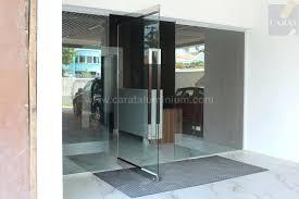 frameless glass doors cad details door pdf dwg