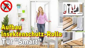 Insektenschutzrollo Tür Smart Insektenstop